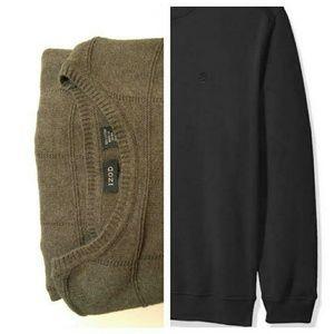 Izod long sleeve sweater